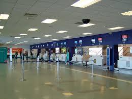 cardiff airport departure area